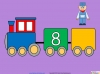 Counting in Multiples of Twos Train (slide 19/28)