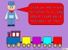 Counting in Multiples of Twos Train (slide 2/28)
