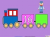 Counting in Multiples of Twos Train (slide 22/28)