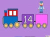 Counting in Multiples of Twos Train (slide 23/28)
