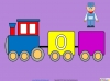 Counting in Multiples of Twos Train (slide 24/28)