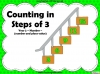 Counting in Steps of 3 - Year 2 (slide 1/42)