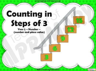 Counting in Steps of 3 - Year 2