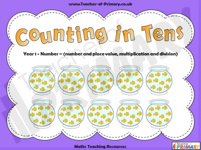 Counting in Tens - Year 1