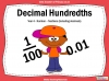 Decimal Hundredths - Year 4