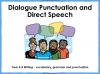 Dialogue Punctuation and Direct Speech (slide 1/15)