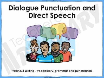 Dialogue Punctuation and Direct Speech