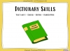 Dictionary Skills - Year 5 and 6