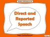 Direct and Reported Speech (slide 1/13)
