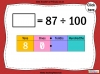Dividing One and Two Digit Numbers by 100 - Year 4 (slide 24/32)