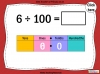 Dividing One and Two Digit Numbers by 100 - Year 4 (slide 6/32)