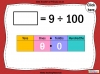 Dividing One and Two Digit Numbers by 100 - Year 4 (slide 8/32)