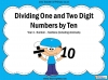 Dividing One and Two Digit Numbers by Ten - Year 4 (slide 1/32)
