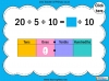 Dividing One and Two Digit Numbers by Ten - Year 4 (slide 14/32)