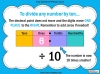 Dividing One and Two Digit Numbers by Ten - Year 4 (slide 2/32)
