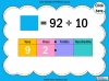 Dividing One and Two Digit Numbers by Ten - Year 4 (slide 24/32)