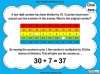 Dividing One and Two Digit Numbers by Ten - Year 4 (slide 29/32)