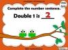 Doubles - Year 1 (slide 26/37)