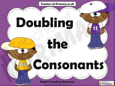 Doubling the Consonants