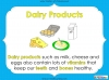 Eating Healthy Food - KS1 (slide 10/40)
