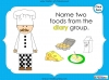 Eating Healthy Food - KS1 (slide 23/40)
