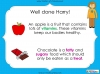 Eating Healthy Food - KS1 (slide 29/40)