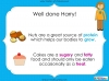 Eating Healthy Food - KS1 (slide 37/40)