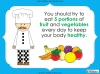Eating Healthy Food - KS1 (slide 9/40)
