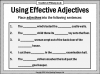 Effective Adjectives (slide 10/11)