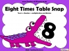 Eight Times Table Snap (slide 1/26)