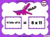 Eight Times Table Snap (slide 10/26)