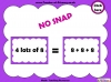 Eight Times Table Snap (slide 13/26)
