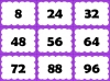 Eight Times Table Snap (slide 22/26)