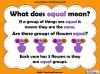 Equal Groups - Year 1 (slide 2/30)