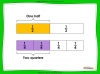 Equivalent Fractions - Year 2 (slide 6/12)