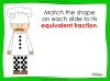 Equivalent Fractions - Year 2 (slide 7/12)