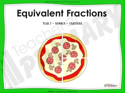 Equivalent Fractions - Year 2