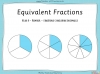 Equivalent Fractions - Year 4 (slide 1/100)