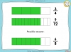 Equivalent Fractions - Year 4 (slide 27/100)