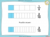 Equivalent Fractions - Year 4 (slide 28/100)