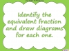 Equivalent Fractions - Year 5 (slide 18/70)