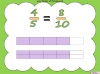 Equivalent Fractions - Year 5 (slide 20/70)