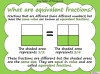 Equivalent Fractions - Year 5 (slide 3/70)