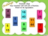 Equivalent Fractions - Year 5 (slide 60/70)