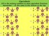 Equivalent Fractions - Year 5 (slide 61/70)