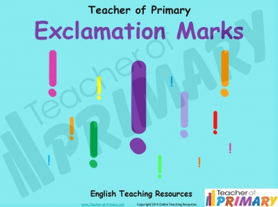 Exclamation Marks KS1