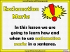 Exclamation Marks (slide 2/10)
