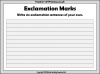 Exclamation Marks (slide 9/10)
