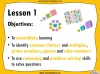 Factors, Multiples, Primes, Squares and Cubes Challenge Cards - Year 6 (slide 2/5)