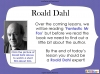 Fantastic Mr Fox by Roald Dahl (slide 10/103)